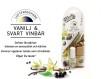 Vanilj & Svart vinbär - doftpåsar för dammsugare - dammsugardoft för roligare städning & fräschare hem