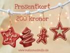 e-Presentkort Snöre 200 kr