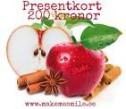 e-Presentkort äpplekanel 200 kr