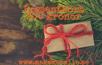 e-Presentkort Paket 200 kr - Presentkort 200 kr