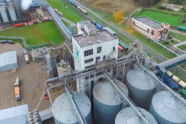 Fabrik som tillverkar matolja