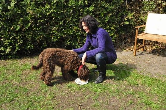 Mariel with Fenna