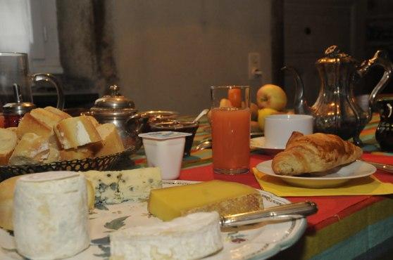 Le petit déjeuner in La Maison des Gardes