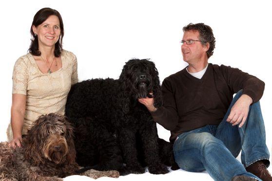 The happy dog family!!!