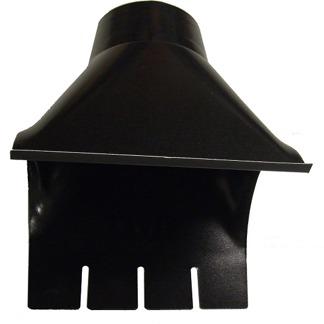 Omvikningskupa 100 mm - Omvikningskupa 100 mm - Svart