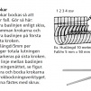 Rännkrok 125 mm - Lång krok