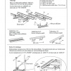 Takstege 2400 mm - TRP, Tegelprofil & Falsat