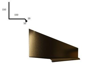 Ståndskiva / Väggplåt - Ståndskiva / Väggplåt - Blank polyester Svart 0.5 mm