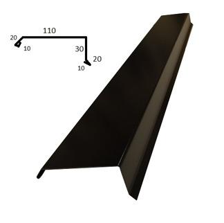 Vindskiva - Vindskiva Tp20 - Blank polyester Svart 0,5 mm