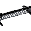 Snörasskydd 2400 mm - TRP, Tegelprofil, Pannplåt, Sinus & Falsat - Snörasskydd 2400 mm - Tegelprofilerad plåt - Svart