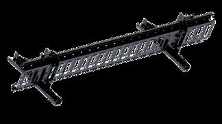 Snörasskydd 2400 mm - TRP, Tegelprofil, Pannplåt, Sinus & Falsat - Snörasskydd 2400 mm -  TRP Profil, Sinus & Pannplåt - Svart