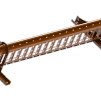 Snörasskydd 2400 mm - TRP, Tegelprofil, Pannplåt, Sinus & Falsat - Snörasskydd 2400 mm - Tegelprofilerad plåt - Tegelröd
