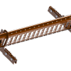 Snörasskydd 2400 mm - TRP, Tegelprofil, Pannplåt, Sinus & Falsat - Snörasskydd 2400 mm - Klicktak falsat - Tegelröd