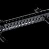Snörasskydd 1200 mm - TRP, Tegelprofil, Pannplåt, Sinus & Falsat - Snörasskydd 1200 mm - Tegelprofilerad plåt - Svart