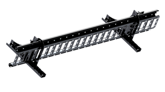 Snörasskydd 1200 mm - TRP, Tegelprofil, Pannplåt, Sinus & Falsat - Snörasskydd 1200 mm - TRP Profil, Sinus & Pannplåt - Svart