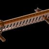 Snörasskydd 1200 mm - TRP, Tegelprofil, Pannplåt, Sinus & Falsat - Snörasskydd 1200 mm - Tegelprofilerad plåt - Tegelröd