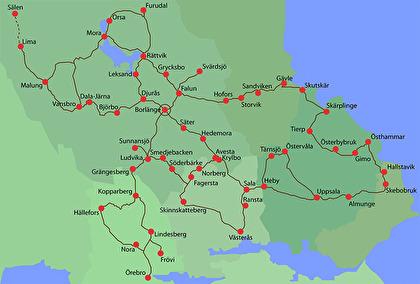 Turbilskarta Dala-Profil