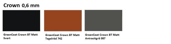 Tp20 kulörkarta crown 0.6 mm