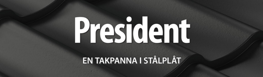 President takplåt