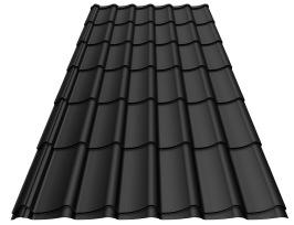 Stilpannan svart blank poly