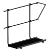 Skyddsräcke till gångbrygga - Skyddsräcke för gångbrygga 1200 mm - Svart