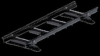 Takstege komplett - Papptak & Shingel - Takstege 1200 mm komplett till papptak - Svart