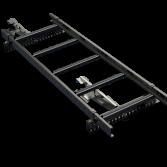 Takstege 1500 mm - Takpannor på lätta undertak