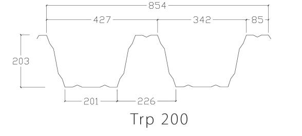 TP200 profilgeometri