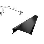 Pall med vindskivor B=125 mm - 1000 m