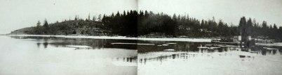 1. Plats för kvarnbyggnaden, Djurö kvarn 1910 03 11