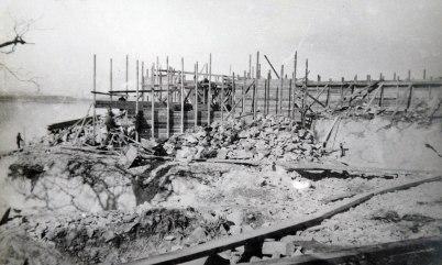 5. Formning av kvarnsockel 1910 04 13