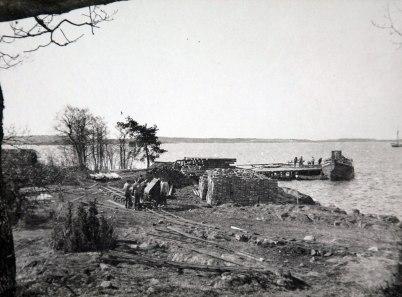 6. Provisorisk hamn 1910 04 13