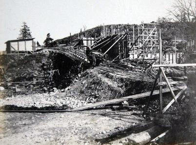13 Schaktning för kaftstationen 1910 04 20