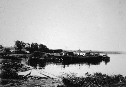 32 Provisorisk hamn 1910 05 18