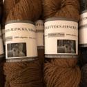 Alpackagarn - BRUN Alpackagarn Visätters Texa´s