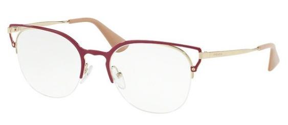 Efter alla kraftiga svarta glasögonbågar kommer nu även mer lätta och luftiga modeller... (Båge från Prada)
