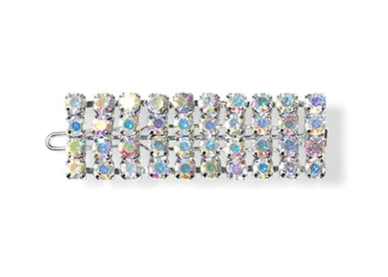 Sui Ava strasshårspänne multicolor