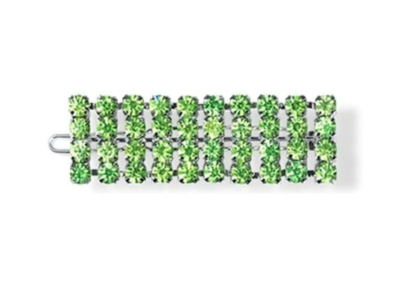 Sui Ava strasshårspänne grön