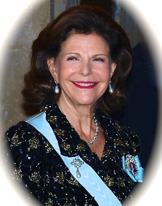 Drottning Silvia.