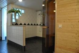 Ny bastu och dusch