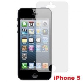 SKYDDSFILM TILL IPHONE 5 - SKYDDSFILM TILL IPHONE 5 FRONT