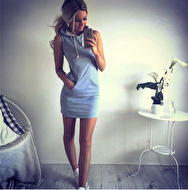 DRESS MED LUVA
