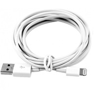3M USB LADDKABEL TILL IPHONE 5 & 6