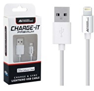 USB LADDKABEL TILL IPHONE 5, 5S, 5C, 6
