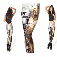 LEGGINGS MED STAR WARS MOTIV