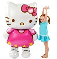 STOR FOLIEBALLONG - HELLO KITTY