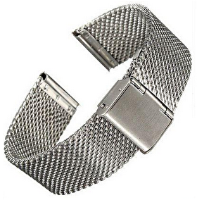 MILANESE ARMBAND TILL APPLE WATCH 38mm - MILANESE ARMBAND TILL APPLE WATCH 38mm -UTAN ADAPTER