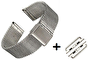 MILANESE ARMBAND TILL APPLE WATCH 38mm - MILANESE ARMBAND TILL APPLE WATCH 38mm -MED ADAPTER