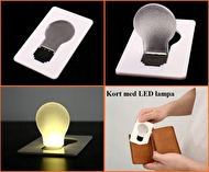 KORT LED-LAMPA