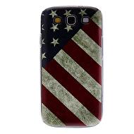 SKAL TILL GALAXY S3. USA FLAGGA, VINTAGE